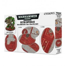 Sector Imperialis 60mm Round, 75mm Oval & 90mm Oval Bases (GW66-93)