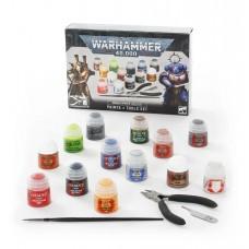 Warhammer 40,000: Paints + Tools Set (GW60-12)