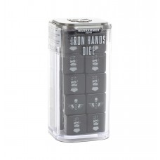 Iron Hands Dice Set (GW86-85)