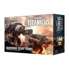 Adeptus Titanicus: Warhound Scout Titans (GW400-18)