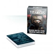 Adeptus Titanicus Reaver Battle Titan Weapon Card Pack (GWWO-006)