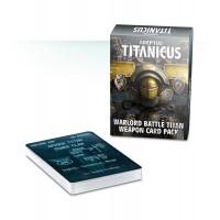 Adeptus Titanicus Warlord Battle Titan Weapon Card Pack (GWWO-007)