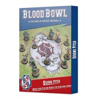 Sevens Pitch: Double-sided Pitch and Dugouts for Blood Bowl Sevens (GW202-17)