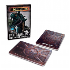 Necromunda: Van Saar Gang Tactics Cards (Second Edition) (GW300-18)