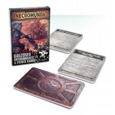 Necromunda: Badzone Environments & Events Cards (GW300-34-60)