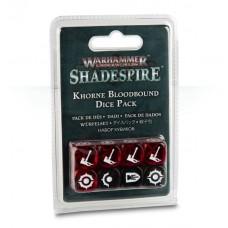 Warhammer Underworlds: Shadespire - Khorne Bloodbound Dice Pack (GW110-10)