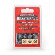 Warhammer Underworlds: Beastgrave – Grashrak's Despoilers Dice Pack (GW110-65)