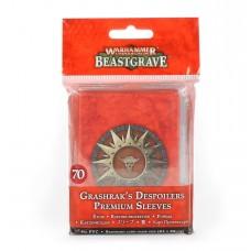 Warhammer Underworlds: Beastgrave – Grashrak's Despoilers Premium Sleeves (GW110-69)